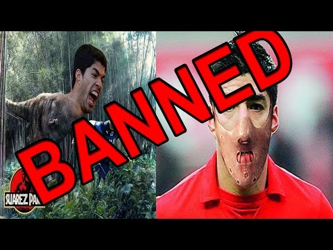 SUAREZ BANNED FROM FIFA 15 ?!?!?!?