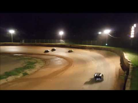 Dwarf 2nd Feature - Wartburg Speedway 8-13-16 - Flagstand Footage