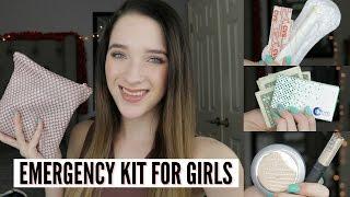Emergency Kit For Girls 2017! | BriannaxBeautyx