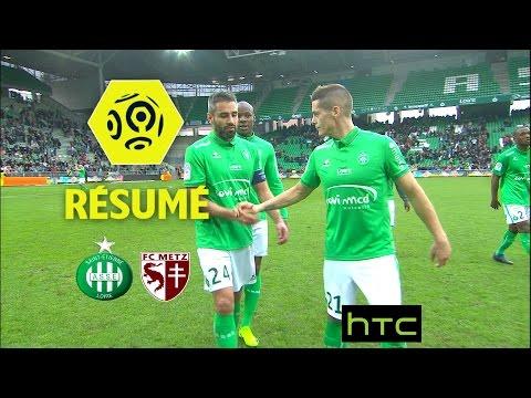AS Saint-Etienne - FC Metz (2-2)  - Résumé - (ASSE - FCM) / 2016-17