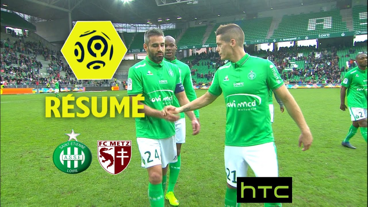 as saint etienne fc metz 2 2 r sum asse fcm. Black Bedroom Furniture Sets. Home Design Ideas