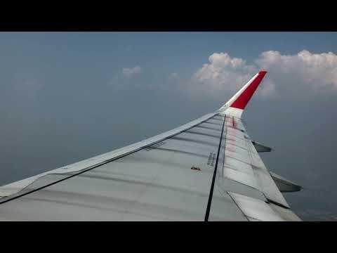 Air Asia Airbus  A320 - Flight from Bangkok to Chiang Mai