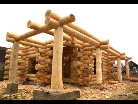 видео: Строительство деревянного дома