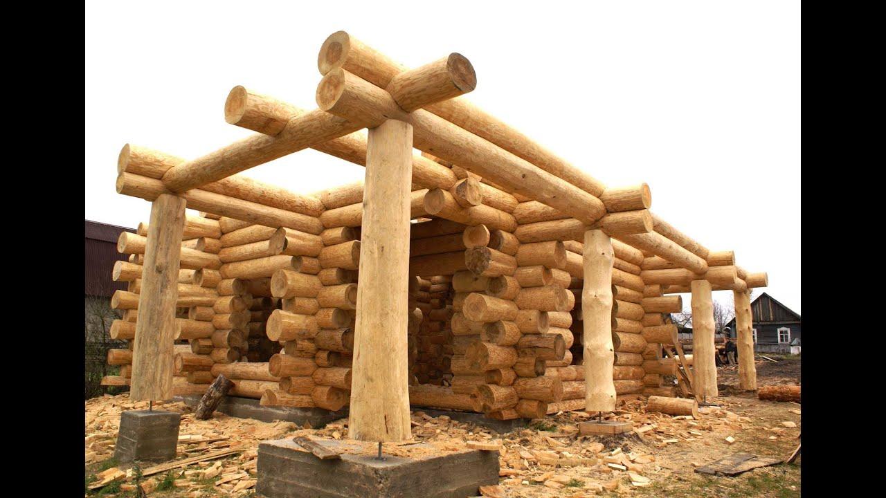 Строю деревянный дом своими руками