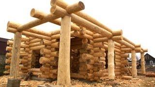 видео Строительство деревянных домов