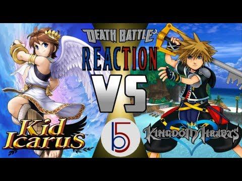 THE BRIGHTEST LIGHT | Sora vs Pit Death Battle REACTION
