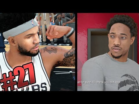 NBA 2k18 MyCAREER - Lil Juug Custom Signature Jordan Shoe! Derozan Foot Locker Meeting! Ep. 27