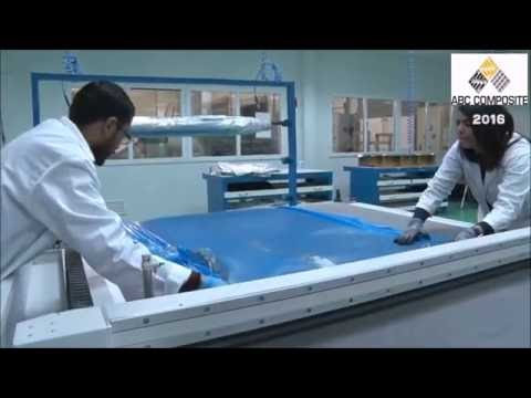 How to produce a Carbon Fibre wing for a lightweight aircraft.