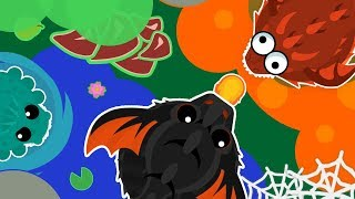 SMALL Loody helps BIG Loody with a KING DRAGON in MOPE.IO