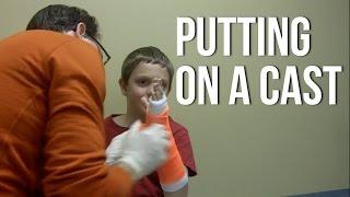 Putting On A Cast - Short Arm Cast