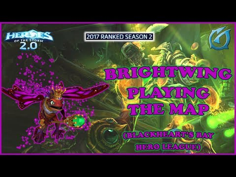 Grubby | Heroes of the Storm 2.0 - Brightwing - Playing the Map - HL 2017 S2 - BHB