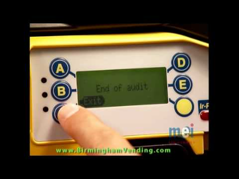 MEI Cashflow Series 7000 Training Video produced by MEI brought to you by  Birmingham Vending flv