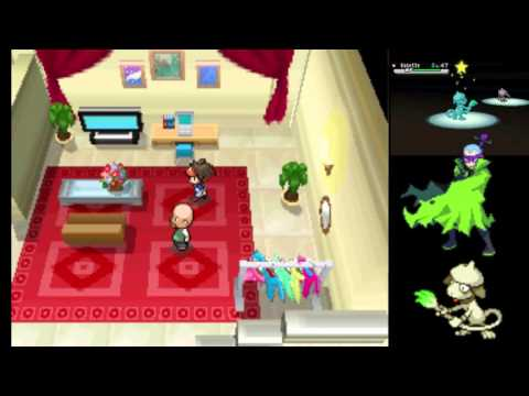 Pokemon Black 2 White 2 Pokestar Studios Dressing Room
