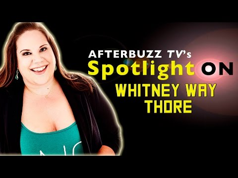 Whitney Way Thore Interview | AfterBuzz TV's Spotlight On