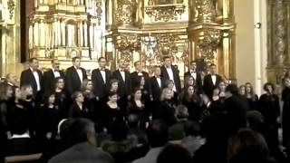 concierto del coro Encanto en la iglesia san Esteban Protomatir Fuenlabrada Madrid
