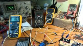 Настройка контурного резонанса 20 кГц