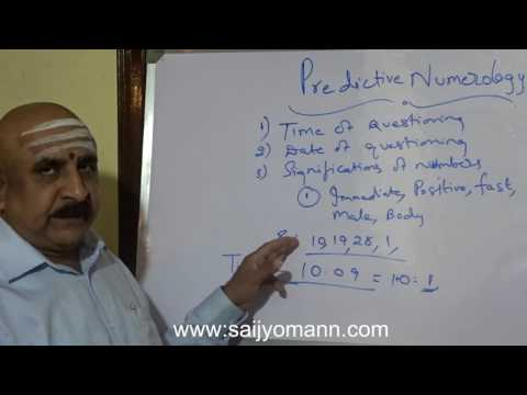 Methods Of Predictions - Predictive Numerology.