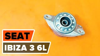 Reemplazar Cilindro de freno de rueda SEAT IBIZA: manual de taller
