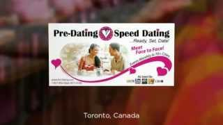 Toronto Speed Dating Singles Events - www.Pre-Dating.com (877) 477-3328