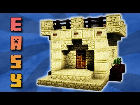 ⏳Tutorial: Minecraft Wüstenhaus bauen (MIT DOWNLOAD) | Minecraft Starter Haus Deutsch