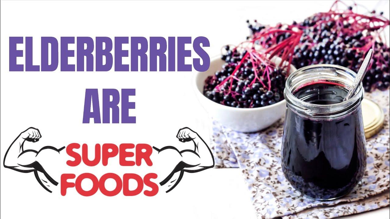 10 Amazing Health Benefits of Elderberry YOU NEED I Elderberry Benefits