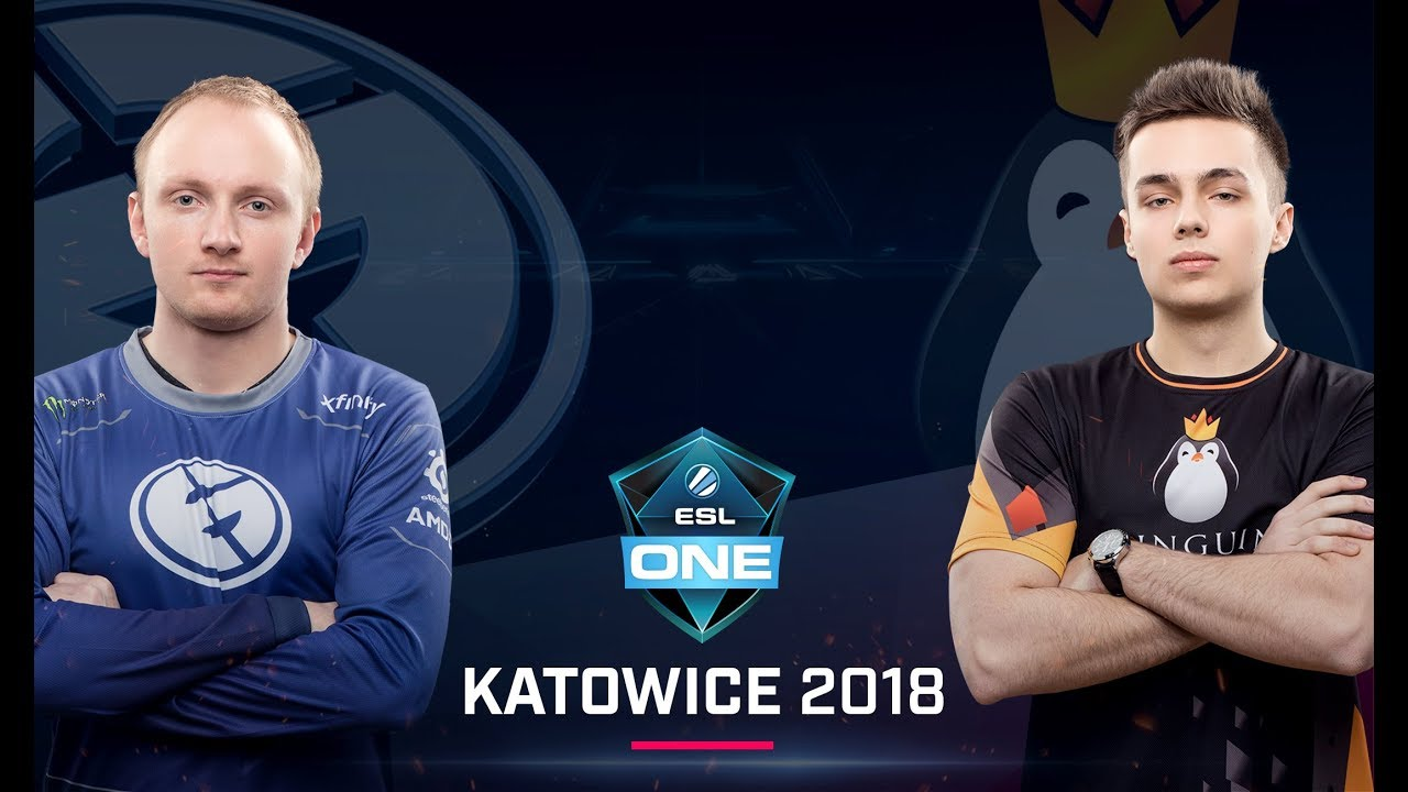 Dota  Eg Vs Team Kinguin Game  Lb Semi Group B Esl One Katowice Major