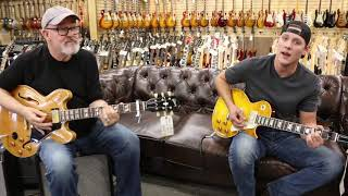 Tim Pierce & Reece Phillips playing a 1959 Gibson ES-345 & 1959 Les Paul Reissue
