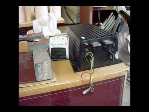 12 Volt Motor >> Electric motor 36 volt test - YouTube