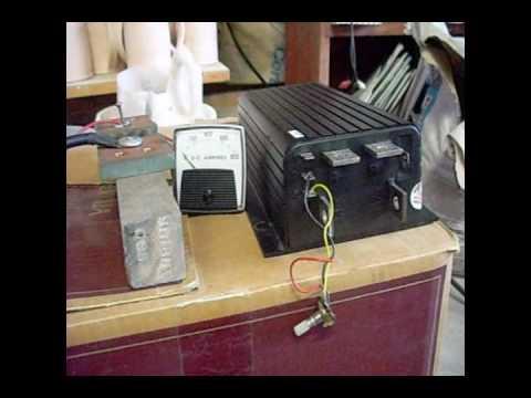 Electric Motor 36 Volt Test