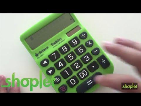 Datexx DD 2361 2-Line TrackBack Desktop Calculator