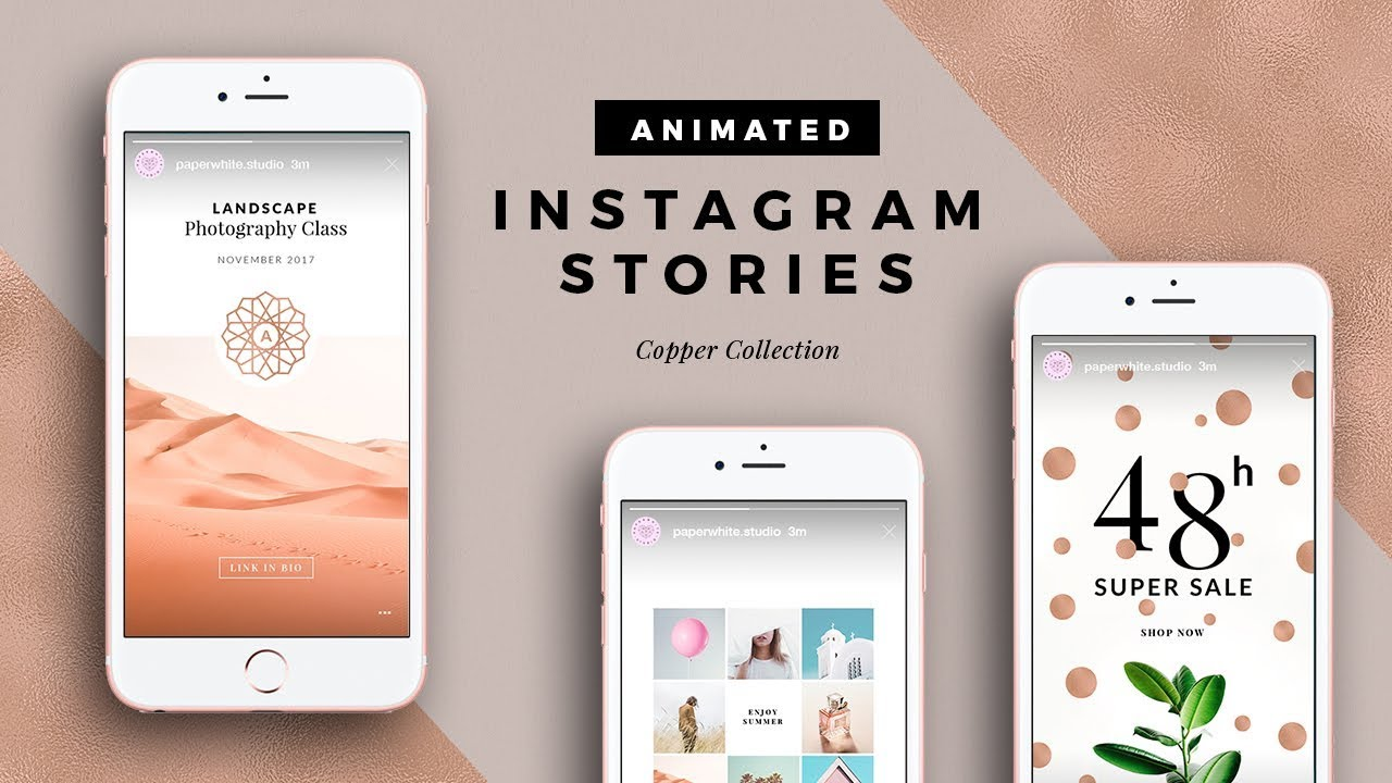 how to make instagram stories animated