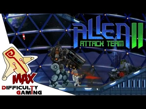 Alien Attack Team 2 Playthrough - Extreme Difficulty - Levels 1 - 12