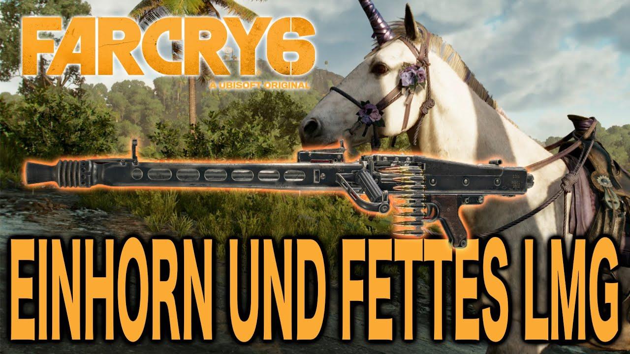 Download Far Cry 6 Guide - Reitet auf einem Einhorn und nehmt ein fettes MG 42 mit auf die Jagd