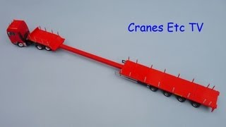 Conrad MAN TGX + Faymonville Telemax by Cranes Etc TV