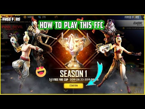 HOW TO JOIN FREE FIRE CUP SEASON 1 || FFC FULL DETAILS IN FREE FIRE ❤✌||