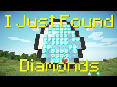 """I Just Found Diamonds"" - A Minecraft Parody of The Lonely Island's I Just Had Sex"