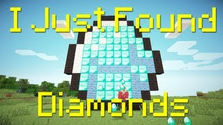 """I Just Found Diamonds"" - A Minecraft Parody of The Lonely Island"