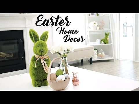 DECORATE MY HOUSE FOR EASTER WITH ME!
