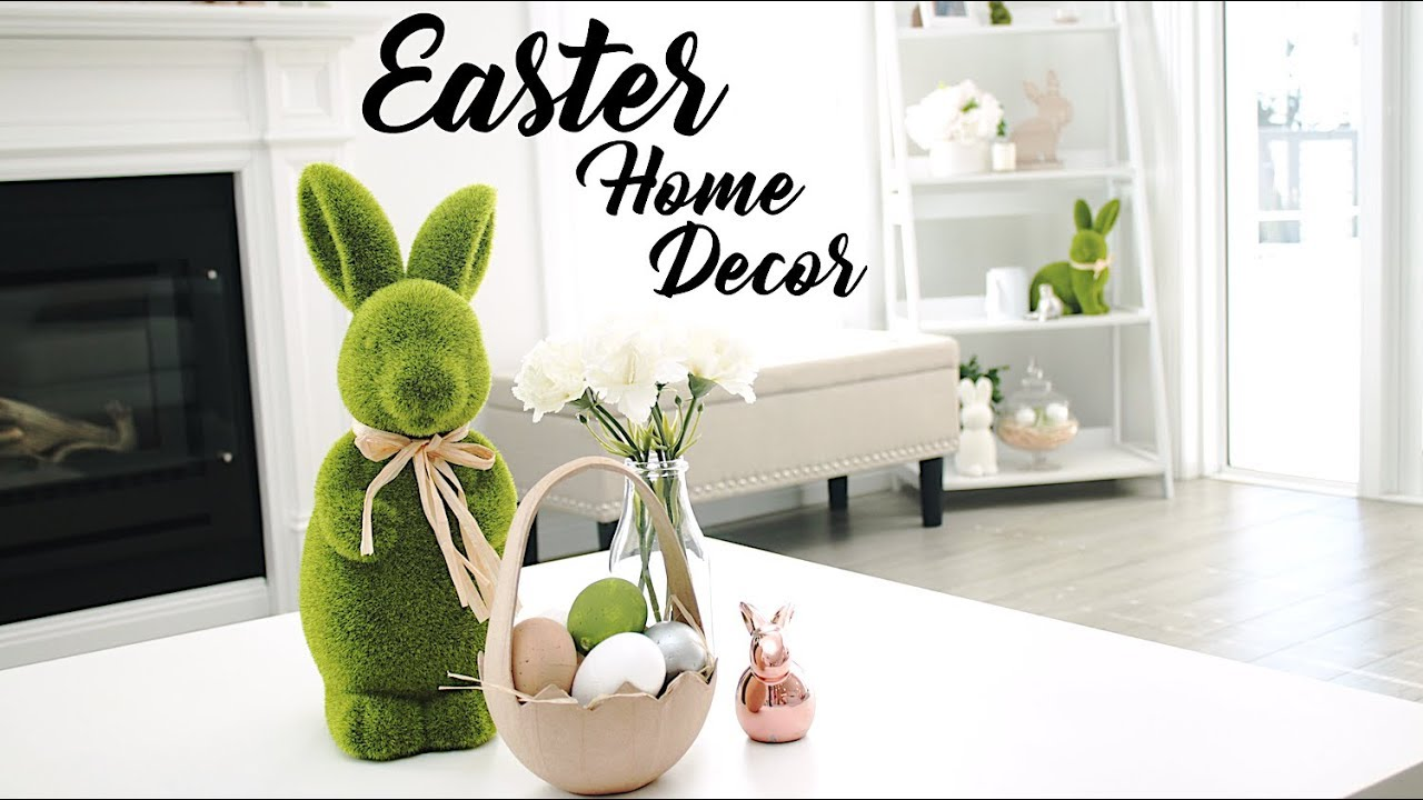 Decorate My House For Easter With Me