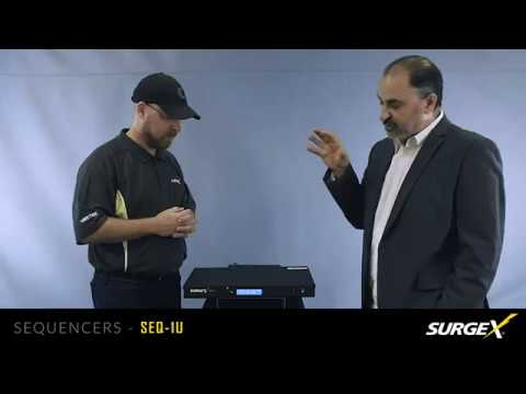 SurgeX SEQ-1U Sequencer Product Protection Overview