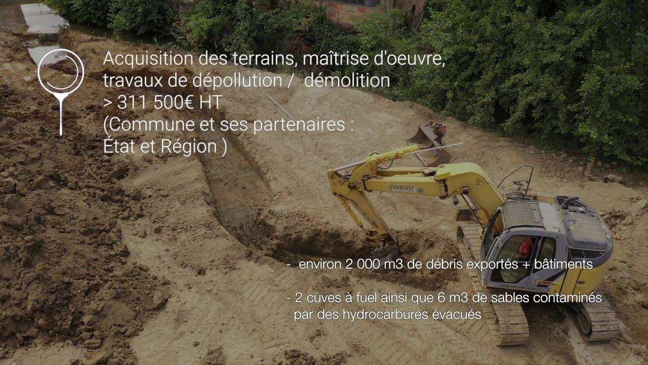 Vidéo - Restauration de l'Auxigny à Saint-Martin d'Auxigny 2020