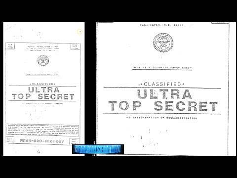Finally! Leaked Classified Ultra Top Secret UFO Files! Roswe