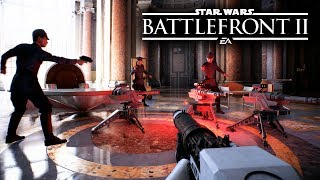 Star Wars Battlefront 2 - NEW GAMEPLAY! ALL WEAPONS FROM EVERY CLASS! thumbnail