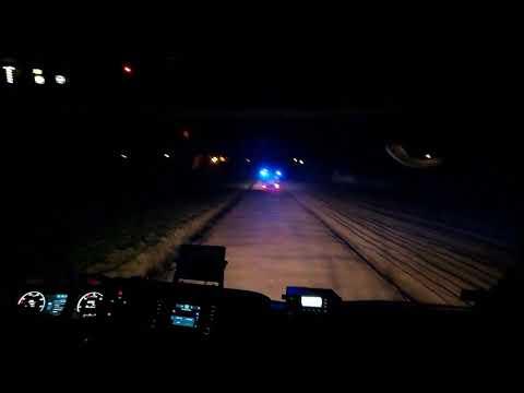 OSP Dłutów|Wyjazd|Przejazd|Alarmowo|Trąby| Scania P450XT 7/40| MAN TGM 13.290
