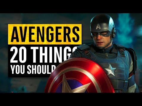 Marvel's Avengers | 20 Things You Need To Know! (PS4 exclusive content)