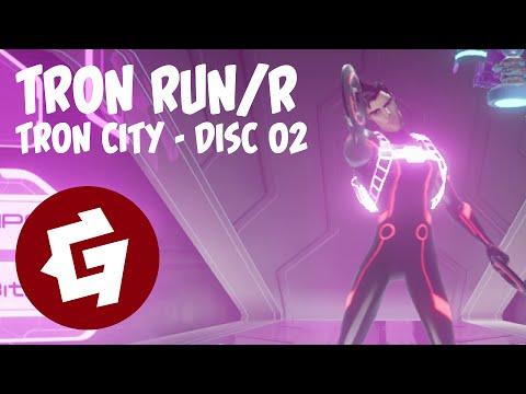 TRON RUN/r - TRON City - Disc 02 |