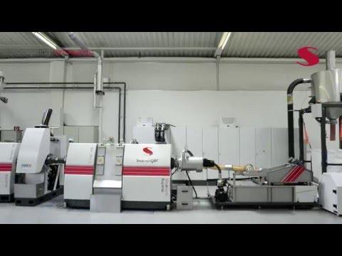 Starlinger Recycling Line recoSTAR dynamic105 C-VAC