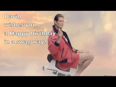 Happy Birthday by The Hoff - YouTube
