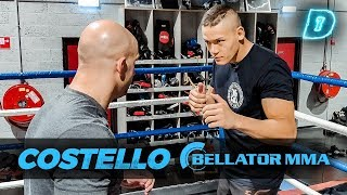 MMA-VECHTER maakt JayJay KAPOT! // DAY1 Trainen met Costello van Steenis