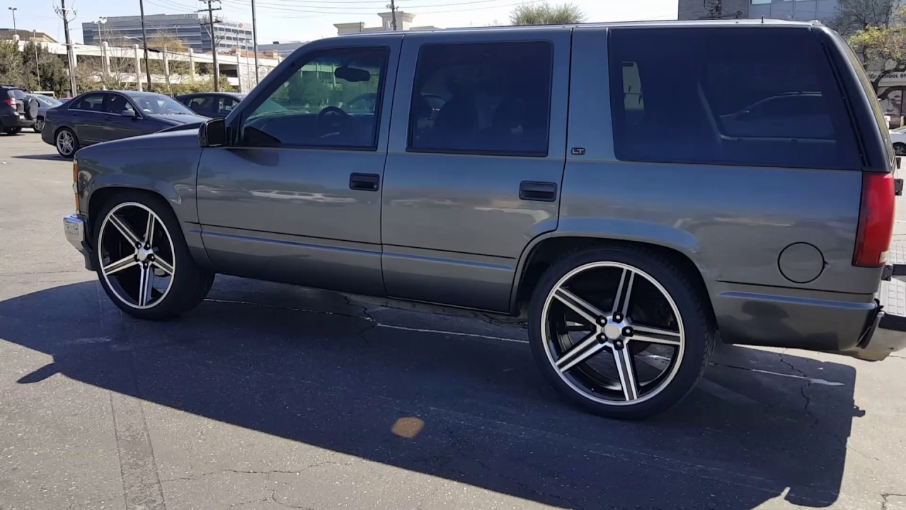small resolution of drop chevy tahoe